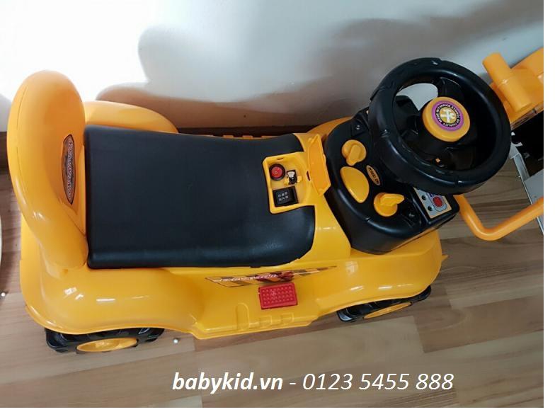 Xe cần cẩu máy xúc điện trẻ em NT-601