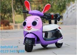xe máy điện trẻ em Thỏ HLM- 9988 (3)