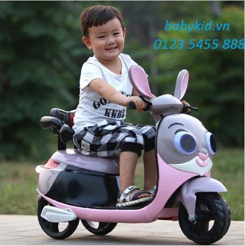 xe máy điện trẻ em Thỏ HLM- 9988 (5)