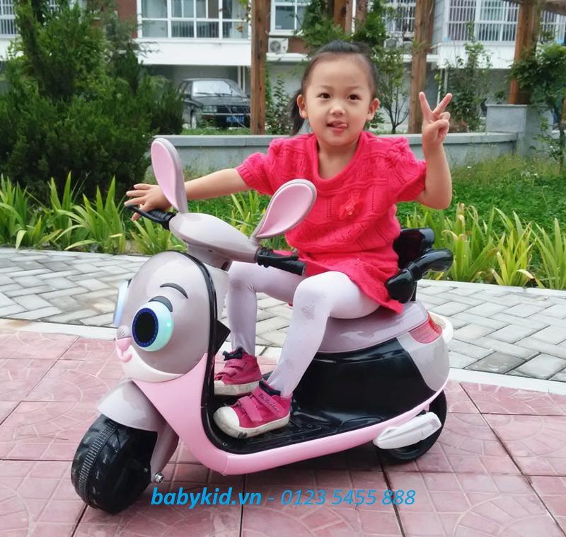 xe máy điện trẻ em Thỏ HLM-9988