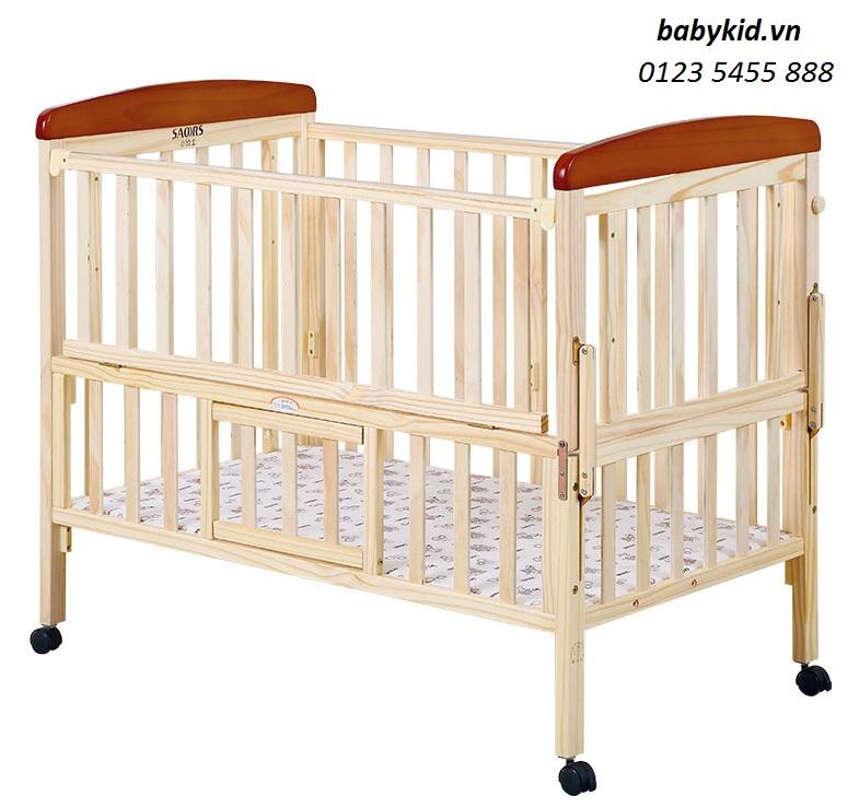 Cũi gỗ trẻ em SK-831-9 giá rẻ