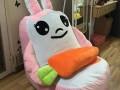 Ghế lười hạt xốp dáng Sofa hình con thỏ (2)