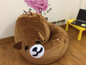 Ghế lười hạt xốp hình gấu Bear (2)