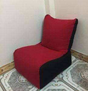 Ghế lười hạt xốp dáng sofa đơn SF02