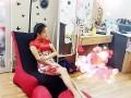 Giới thiệu về Ghế lười hạt xốp dáng sofa đơn màu đỏ SF02