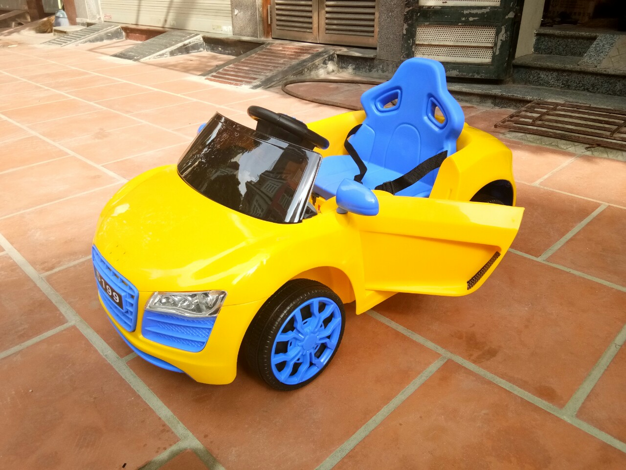 Xe ô tô điện trẻ em BRJ-5199