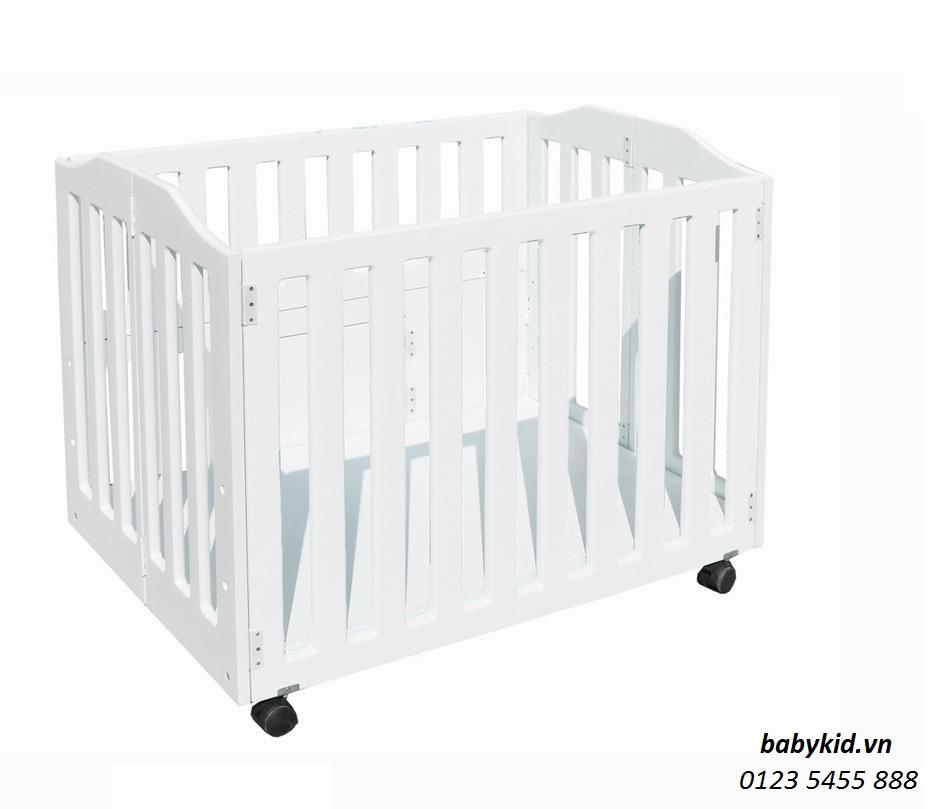 cũi gỗ BC011 cho bé (1)