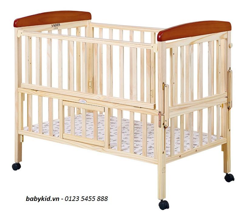 Cũi gỗ trẻ em SK-831-9