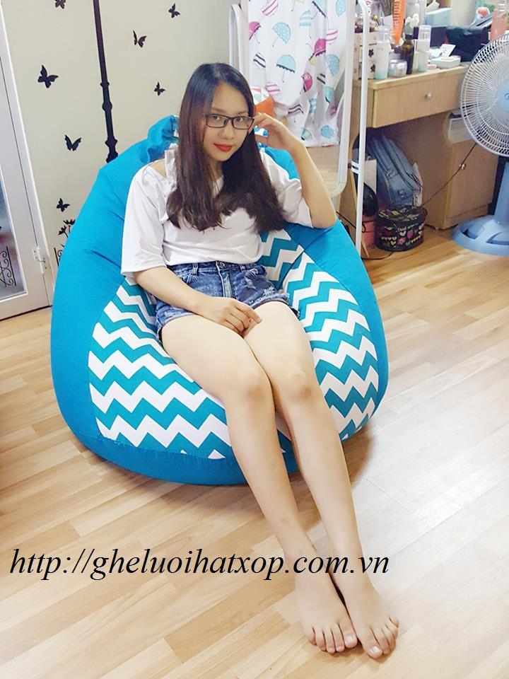 ghế dáng lê sóng xanh GL