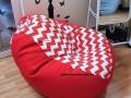 ghế lười hạt xốp dáng lê sóng đỏ GL L031 (3)