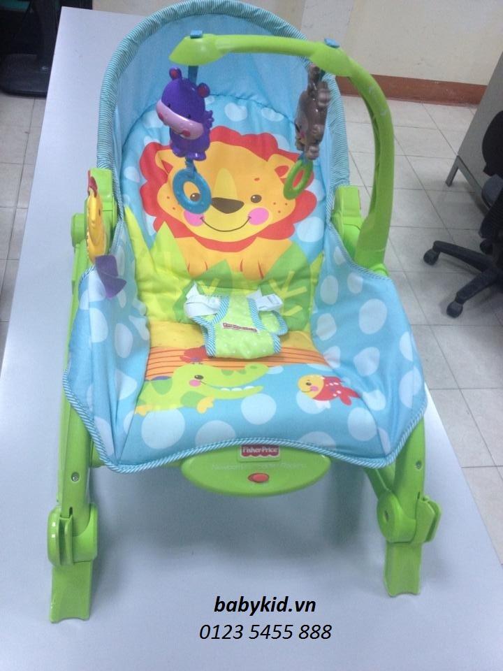 ghế rung cho bé W2811 cao cấp