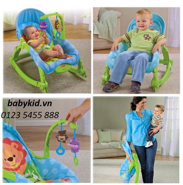 ghế rung cho bé W2811 đa năng