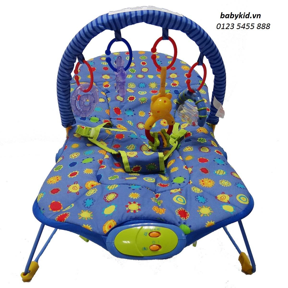 ghế rung trẻ em Bibos 30725 giá rẻ