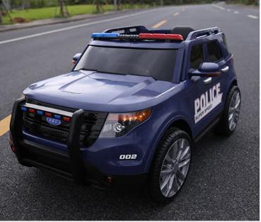 xe ô tô điện cảnh sát YH-911 (3)