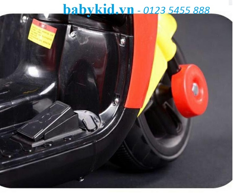 xe máy điện trẻ em Mickey 6688 (9)