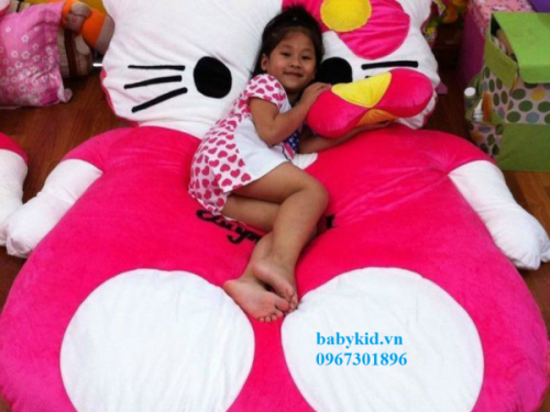 Đệm thú bông hình Mèo Hello Kitty NNTB-201 (1)
