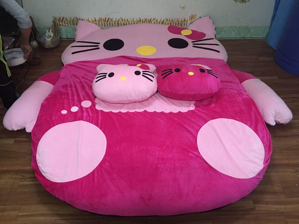 Đệm thú bông hình Mèo Hello Kitty NTB-201