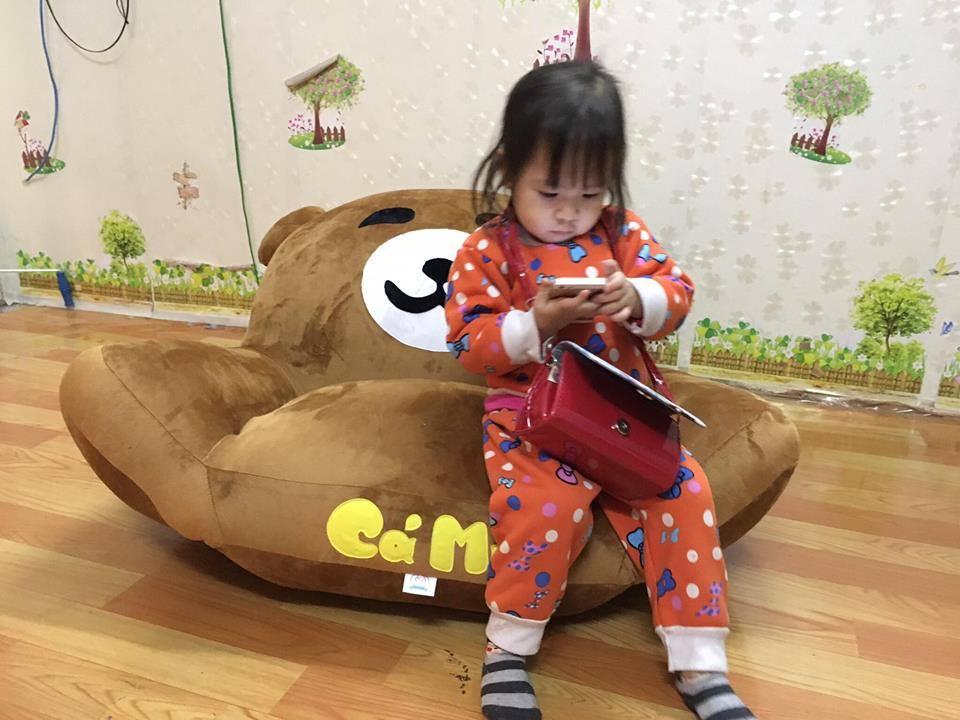 Ghế lười thú bông hình gấu Bear GB 02