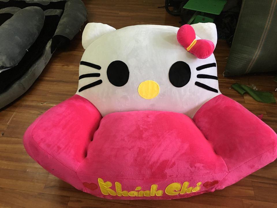 Ghế lười thú bông hình Mèo Kitty GB 01