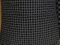 Ghế luời hạt xốp dáng lê cotton kẻ ô vuông GL L073 (4)