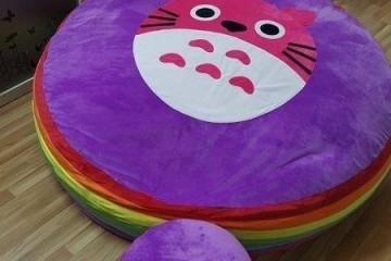 Ghế lười hạt xốp hình tròn – Món quà trung thu cực kỳ thú vị dành cho bé