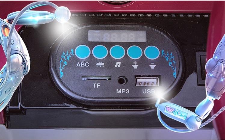 xe ô tô điện trẻ em JE-1166 màn hình xe