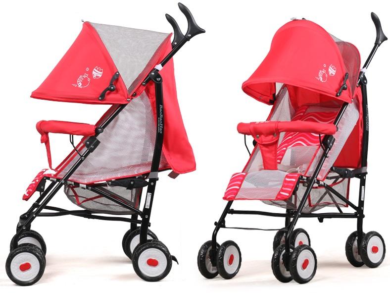 xe đẩy trẻ em 630E đỏ 1