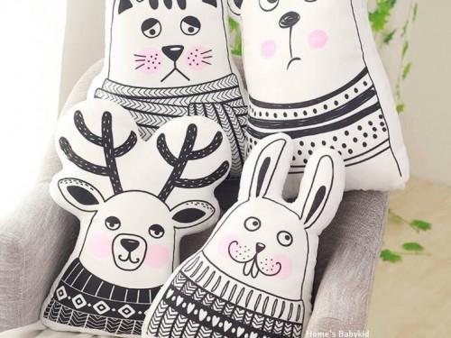 Gối ôm trang trí Home's Babykid hình animals