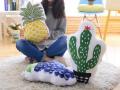 Gối ôm trang trí Home's Babykid hình hoa quả (1)