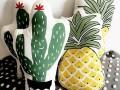 Gối ôm trang trí Home's Babykid hình hoa quả (3)