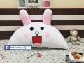 Gối tựa đầu giường hình Thỏ Cony GĐG010 (2)