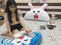 Gối tựa đầu giường hình Thỏ Cony GĐG010 (4)