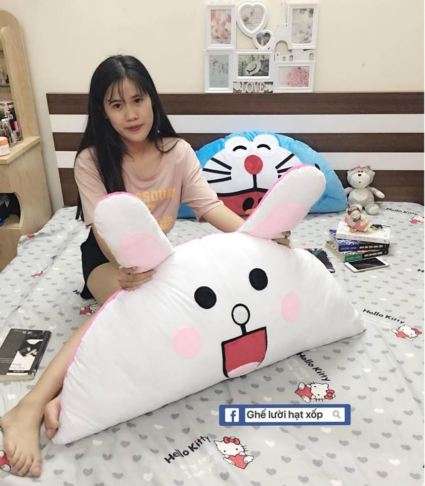 Gối tựa đầu giường hình Thỏ Cony GĐG010