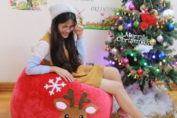 Tận hưởng giá rẻ thỏa sức mua sắm ghế lười đón Noel cùng Babykid