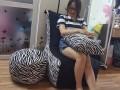 Ghế lười hạt xốp dáng sofa đơn vằn GL SF003 (1)