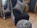 Ghế lười hạt xốp dáng sofa đơn vằn GL SF003 (6)