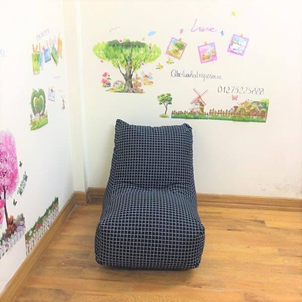 Ghế lười hạt xốp dáng sofa GL SF006