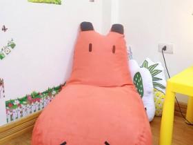 Ghế lười hạt xốp dáng sofa hình Hà Mã GL S083 (1)