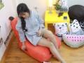 Ghế lười hạt xốp dáng sofa hình Hà Mã GL S083 (5)