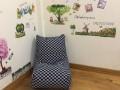 Ghế lười hạt xốp dáng sofa kẻ caro GL SF005 (3)