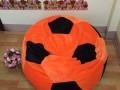 Ghế lười hạt xốp hình quả bóng vải nhung GL B002 (1)