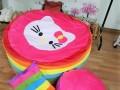 Ghế lười hạt xốp hình tròn phối 7 màu-Kitty GL T095 (1)