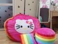 Ghế lười hạt xốp hình tròn phối 7 màu-Kitty GL T095 (3)