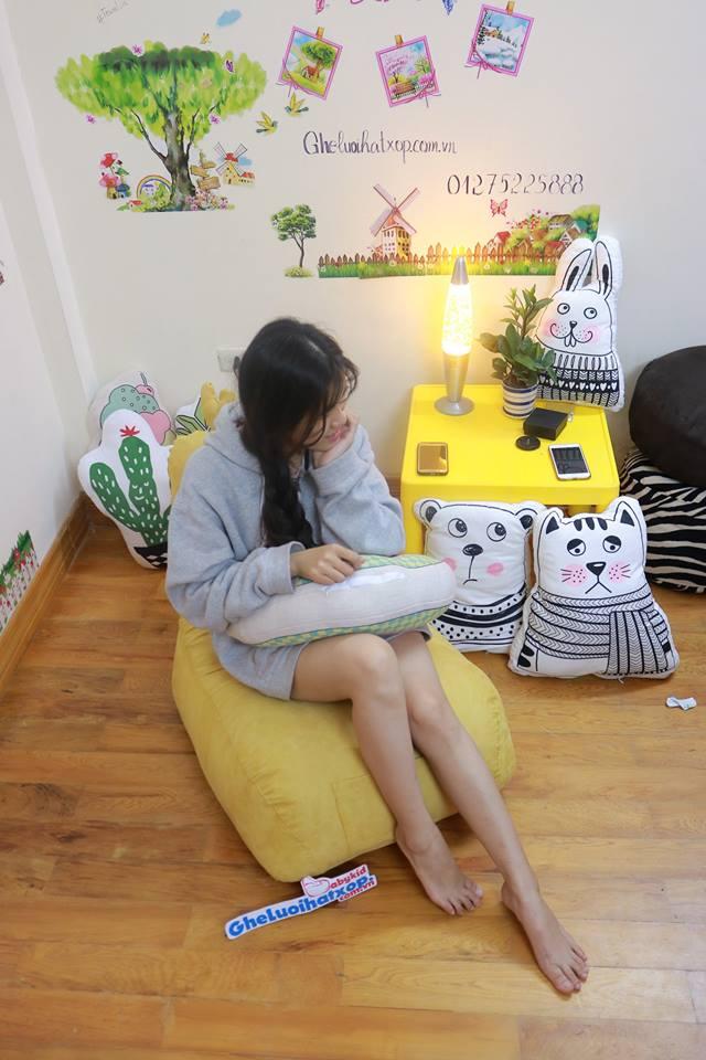 Ghế lười dáng sofa hình gà GL S082