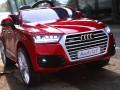 xe ô tô điện trẻ em Audi Q7 đỏ 3