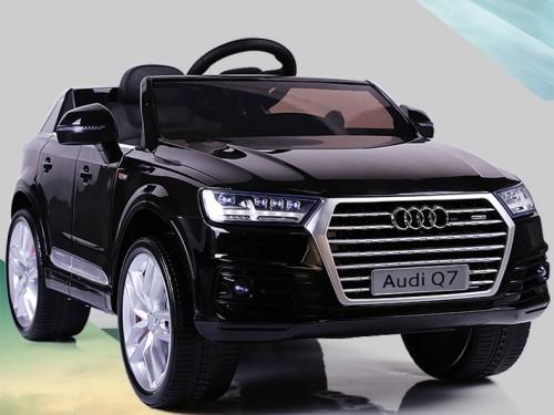 xe ô tô điện trẻ em Audi Q7 đen