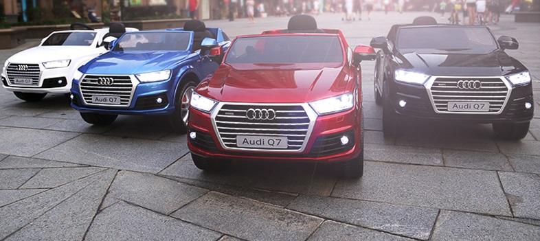 xe ô tô điện trẻ em Audi Q7 1