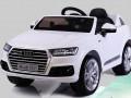 xe ô tô điện trẻ em Audi Q7 trắng