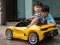 xe ô tô điện trẻ em FC8858 đứa bé