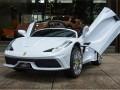 xe ô tô điện trẻ em FC8858 màu trắng